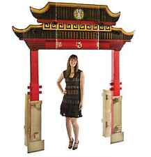 Chinese New Year Archway Cardboard Eastern Elegance Props Scenes Decoration New