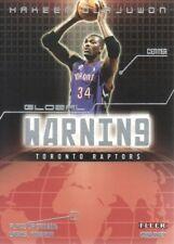 2002-03 Fleer Genuine Global Warning  7 Hakeem Olajuwon Toronto Raptors dcad73cab