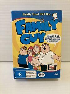 Family Guy Complete Season 1 - 3 Collection Dvd Box Set 9 Discs PAL (Aus Seller)