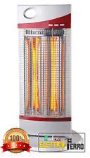 Stufa elettrica al Carbonio Infrarossi Max 1200W Oscillante 2 X 600 W