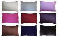100 % NATURAL FIBERS Standard Pillow case cover - 50% MULBERRY SILK - 50% COTTON