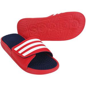 Adidas Originals Adissage TND Slides Sandals Slipper Red EG2140