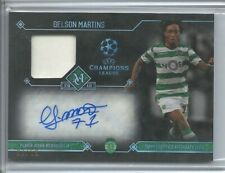 2017-18 TOPPS UEFA MUSEUM COLLECTION AUTO JERSEY GELSON MARTINS /60 PORTUGAL