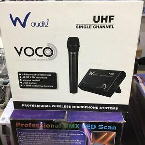 W audio Voco UHF Wireless Microphone Clearance
