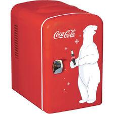 Mini Coca-Cola Can Countertop Fridge, Compact Beverage Personal Coke Soda Gift