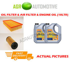 PETROL OIL AIR FILTER + LL 5W30 OIL FOR MERCEDES-BENZ E280 2.8 193 BHP 1995-97