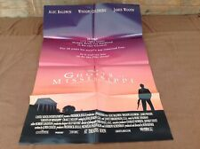 1996 Ghosts Of Mississippi Original Movie House Full Sheet Poster