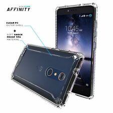 POETIC Affinity Clear【Premium Thin】Shockproof  TPU Bumper Case For ZTE ZMAX PRO