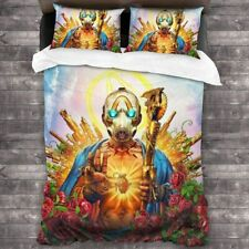 Borderlands 3 Psycho Bedding Set 3PCS Duvet Cover Pillowcases Comforter Cover