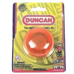 Orange Duncan Imperial YoYo Original Classic Series Yo Yo Boys Girls Toy