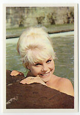 1960s German Film Star Card #81 German Actress Elke Sommer