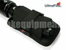 Ultrafire 402 360 rotation étui en nylon pouch lampe de poche torche