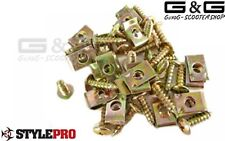 Screw Set M5x15 Fairing Plate Screws Plate Nuts Clamps for scooter