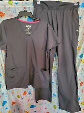 New listing Large Womens Activewear Scrub Set.by KdllO(pants are Medium/ Gray)