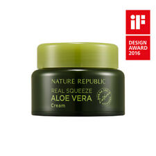 [NATURE REPUBLIC] REAL SQUEEZE ALOE VERA CREAM / Korean Cosmetics