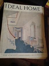IDEAL HOME NOVEMBRE 1947 RIVISTA ORIGINALE VINTAGE ARREDAMENTO HOME GARDENING