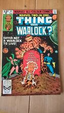 Marvel Two-In-One 63 1980 The Thing and Warlock Bingham