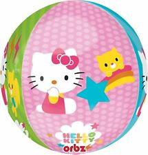 "16"" Hello Kitty Orbz Foil Mylar Balloon Birthday Party"