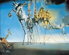 Print - The Temptation of Saint Anthony, 1946 by Salvador Dali