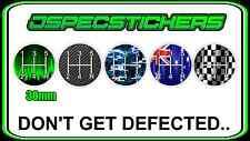 GEAR KNOB SHIFTER STICKER 5 SPEED MANUAL DEFECT H PATTERN DECAL JDM LOWLUX MULTI