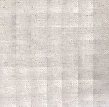 Fat Quarter 14 Count Rustico Oatmeal Aida Cross Stitch Fabric Zweigart