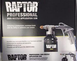 Upol Raptor Bedliner Vari-Nozzle Spray Gun Variable Schultz application Gun