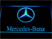 New Custom Mercedes-Benz LED Neon Light Signs Bar Man Cave 7 colors to choose