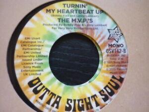 NORTHERN SOUL RECORD BOX STICKER TURNIN/' MY HEART BEAT UP £1 BARGAIN