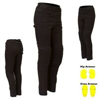 Ladies Motorbike Motorcycle Jeans Leggings Women Protective Pant Denim Trouser