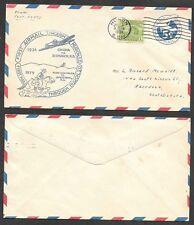 1935 South Dakota Cover - First Air Mail Through Huron