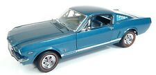 Danbury Mint 1/24 1965 Ford Mustang GT Fastback TEAL LE Rare NO BOX