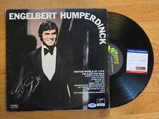 ENGELBERT HUMPERDINCK signed Self Titled (LONDON PAS 71030} Record PSA AE64398