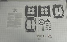 1957 60 CARB KIT FORD & MERCURY CARTER AFB 312 352 430 ENGINES ETHANOL TOLERANT