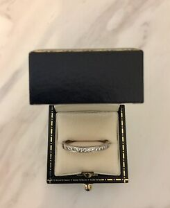 Authentic ANTON Jewellers 18kt White Gold Handcrafted Diamond Ring BARGAIN $450!