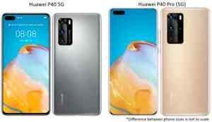 Huawei P40 / P40 Pro 5G | 128GB / 256GB AT&T T-Mobile OR GSM Unlocked Smartphone