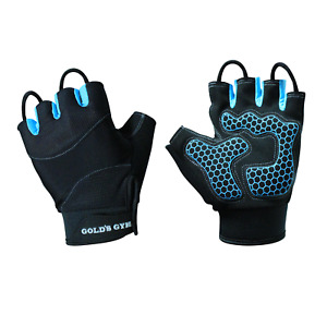 NEW - Gold's Gym Women's Tacky Half-finger Weight Lifting Gloves (M/L)