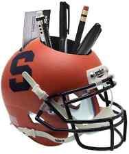 Syracuse Orange (Orange Matte)  NCAA Football Schutt Mini Helmet Desk Caddy