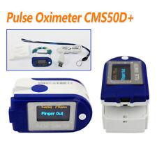 CONTEC Finger Blut Sauerstoff Messgerät SPO2 Puls Herzfrequenz Oximeter CMS50D+