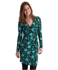 V-Neck Short Sleeve Wrap Dresses