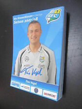29087 Tino Vogel 07-08 Chemnitzer FC CFC original signierte Autrogrammkarte