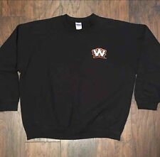 Worcester Tornadoes Black Logo Crewneck Sweatshirt size XL