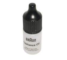 BRAUN Olio Lubrificante Coltello da 5 ml per Rasoio Serie 1 2 6 7 9 CRUZER FLEX