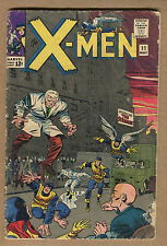 X-Men #11 - 1st App The Stranger - 1965 (Grade 3.0) WH