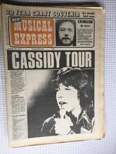 NME magazine 28 October 1972  David Cassidy Black Sabbath Geordie Jackson 5
