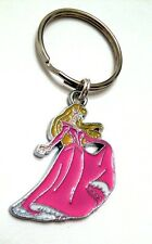 Sleeping Beauty KeyChain Princess Aurora Disney Enamel Charm Us Seller Free Ship
