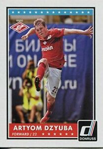 Donruss Soccer 2015 Base Card #86 Artyom Dzyuba