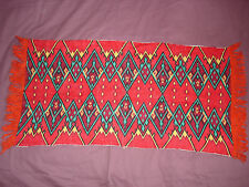 #778  Vintage Hand Embroidered Tapestry  41''/18.5''(105cm/47cm)