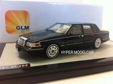 GLM 1/43 LINCOLN CONTINENTAL TOWN CAR 1987 BLACK ART. GLM43102801