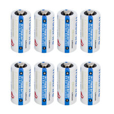 8 X TrustFire CR123 3V Lithium Photo Battery DL123A/CR17345 Batteries USA STOCK