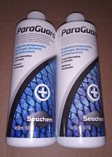 New listing 2 Bottles of Seachem ParaGuard 500 mL (16.9 fl oz) Fish Safe Parasite Control